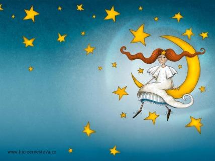Andělka na Měsíci