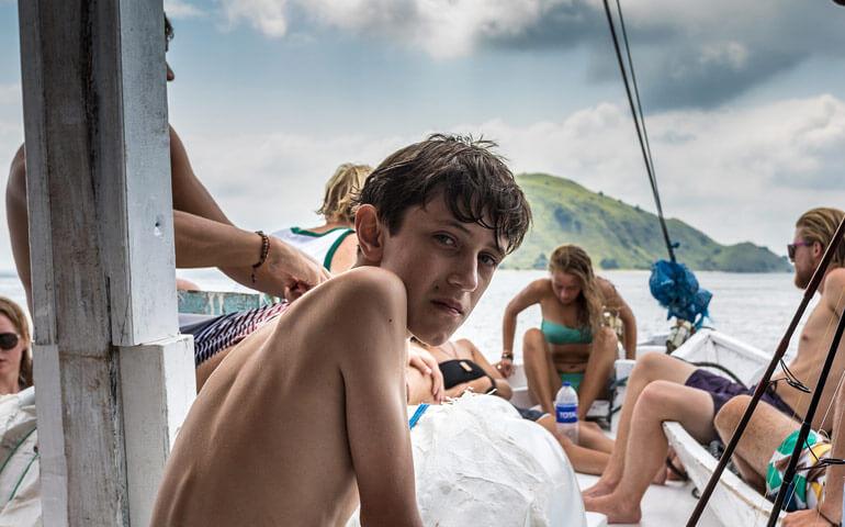 David měl na lodi příležitost potkat různé typy cestovatelů. Ty co inspirují i ty co svým chováním odrazují.