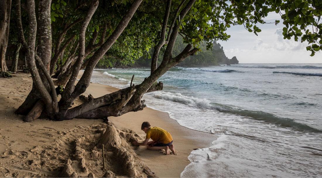 Sulawesi - místo samo vybízející k tvořivosti