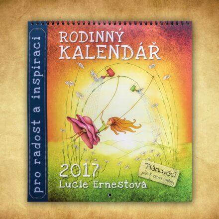 Rodinný kalendář 2017
