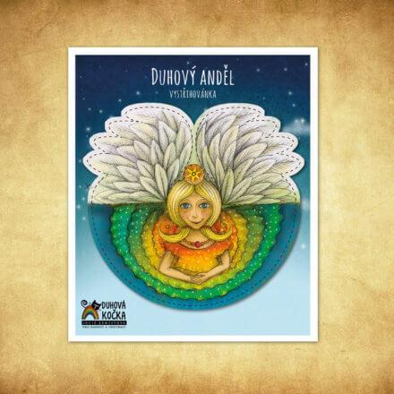 Vystřihovánka Anděl