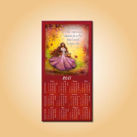 Magnetický kalendář Radost a láska
