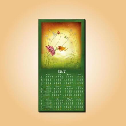 Magnetický kalendář Spokojenost